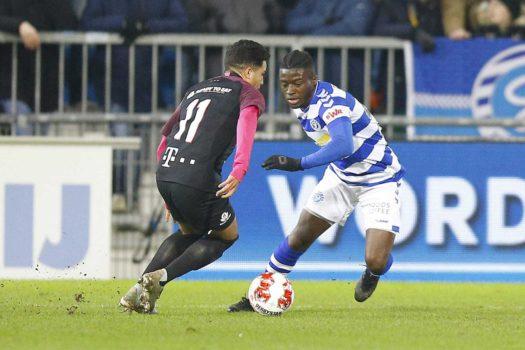 """Leeroy Owusu: """"We winnen, dat geeft vertrouwen en energie voor de komende wedstrijden"""""""