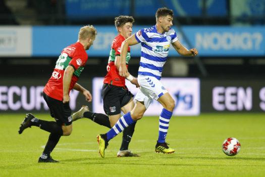 De Graafschap slikt late gelijkmaker in derby tegen NEC: 1-1