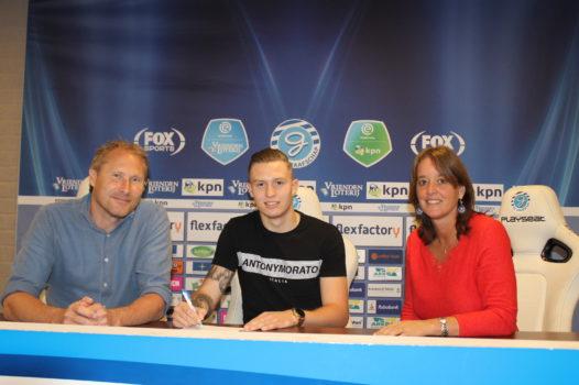 Nieuw contract Marlon Versteeg en op huurbasis naar Spakenburg