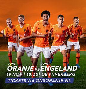 Kaartverkoop Jong Oranje