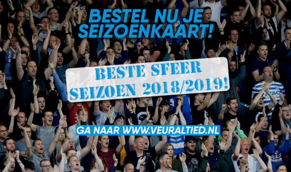 Bestel nu je seizoenkaart 2019-'20!