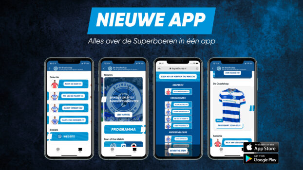 Download nu onze nieuwe app!