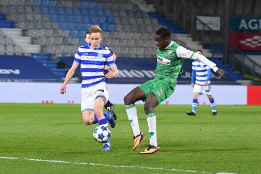 De Graafschap in Stadion Sem Vijverberg pijnlijk onderuit tegen FC Dordrecht