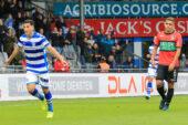 De Graafschap verslaat NEC Nijmegen door doelpunten van Hamdaoui