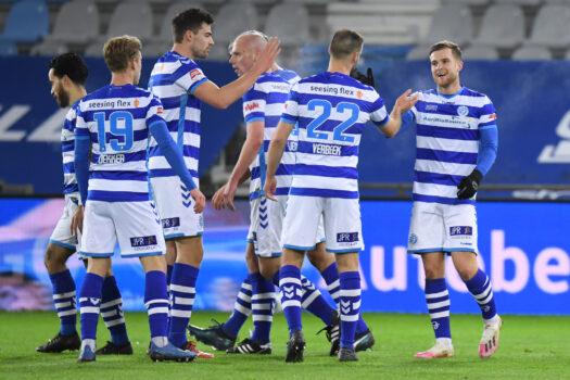 De Graafschap wint eerste thuiswedstrijd van 2021 met 2-0