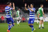 De Graafschap verslaat FC Dordrecht en wint vierde uitduel op rij