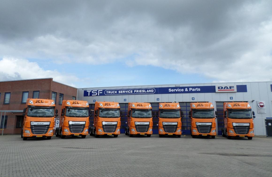 jcl investeert in 119 nieuwe daf trucks de graafschap