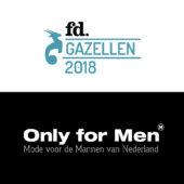 Only for Men winnaar van de FD Gazellen 2018!