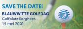 Blauwwitte Golfdag 2020 --> Save the date!