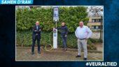 Kuster Energy plaatst laadpaal op de parkeerplaats van Stadion De Vijverberg