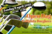 Open dag Golfbaan Borghees – zondag 8 april 2018