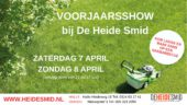 Voorjaarsshow bij De Heide Smid in Halle en Duiven