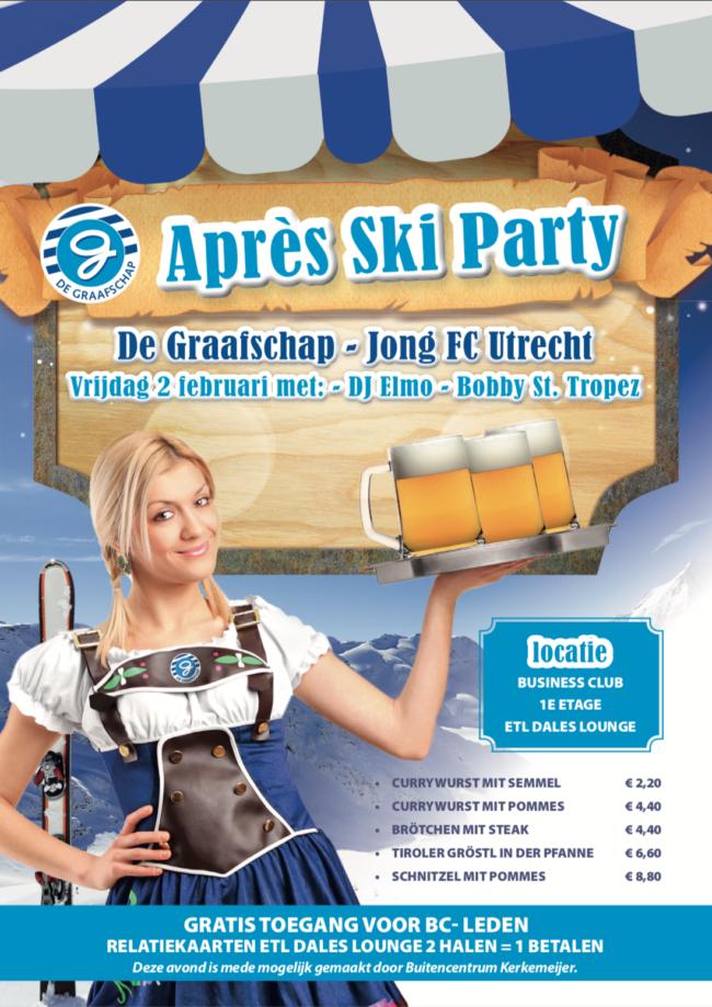 De Graafschap - Jong FC Utrecht | Après Ski Party in de ETL Dales Lounge |