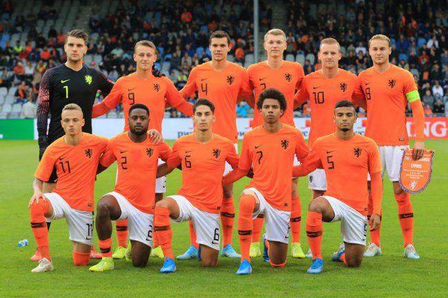 Jong Oranje - Jong Portugal