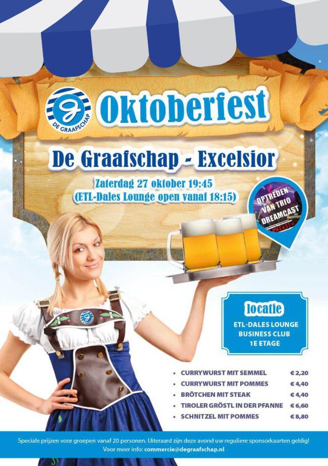 De Graafschap - Excelsior: Oktoberfest in de ETL Dales Lounge