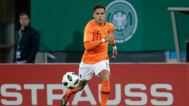 Jong Oranje - Jong Mexico - oefenwedstrijd -