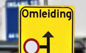 P kaarthouders omgeleid bij kruising Oostelijke Randweg/Terborgseweg