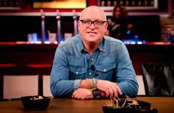 RENÉ VAN DER GIJP vervangt tóch geblesseerde Johan Derksen op het Happy Hour van donderdag 18 april a.s.