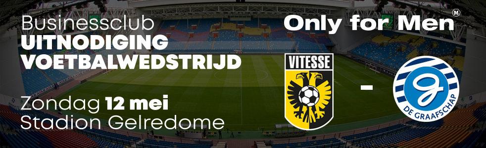 Maak kans op een kaart voor de wedstrijd Vitesse - De Graafschap!