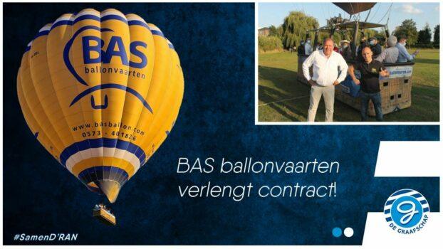 BAS Ballonvaarten verlengt contract!