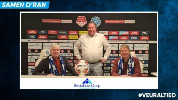 De Berendhaus Groep verlengt als sponsor!