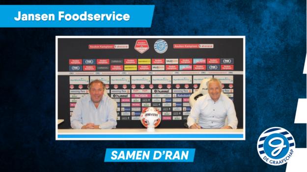 Jansen Foodservice heeft het contract verlengd!