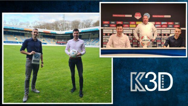 K3D Printing, onderdeel van De Kaak Groep uit Terborg, is onze kersverse nieuwe sponsor!