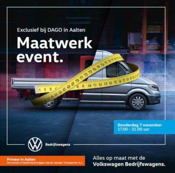 Maatwerk Event Bedrijfswagens. Exclusief bij DAGO Aalten