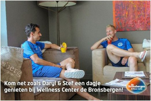 Gratis naar Wellness Center de Bronsbergen
