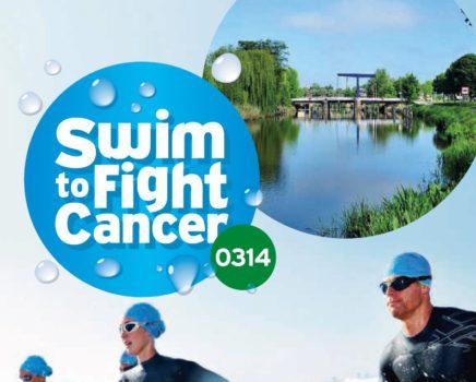 Zaterdag 9 september: Samen zwemmen tegen kanker