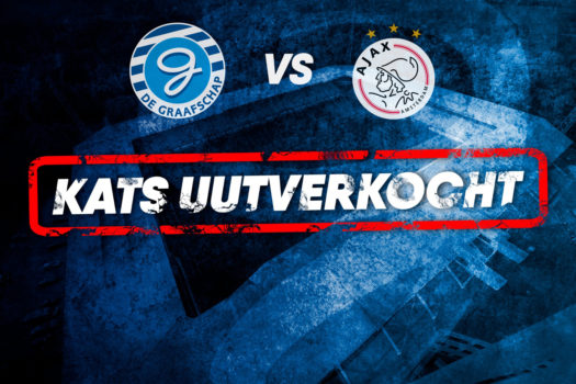 De Graafschap - Ajax: KATS UUTVERKOCHT