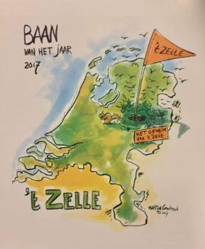 Golfclub 't Zelle verkozen tot Golfbaan van het Jaar