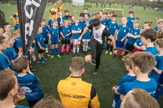 Rabobank Graafschap voetbalclinic een groot succes!