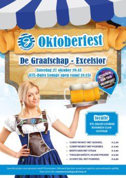 Oktoberfest in de ETL Dales lounge bij De graafschap - Excelsior